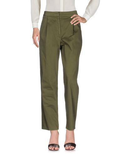 Фото - Повседневные брюки от DEPARTMENT 5 цвет зеленый-милитари