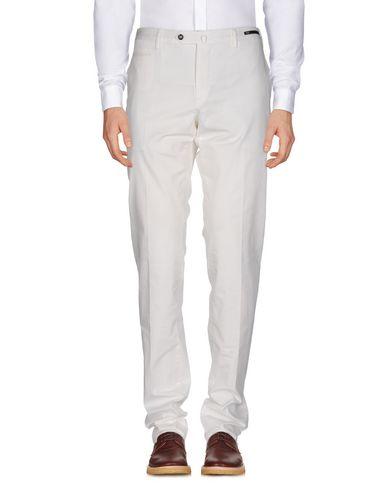 Фото - Повседневные брюки от PT01 белого цвета
