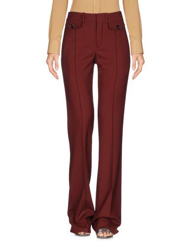 Купить Повседневные брюки от CHLOÉ красно-коричневого цвета