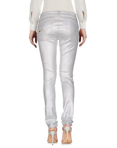 Фото 2 - Повседневные брюки от TWIN-SET JEANS светло-серого цвета