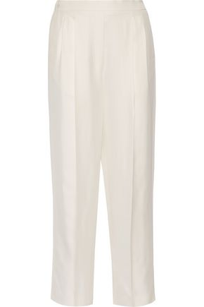 THE ROW Daray twill wide-leg pants