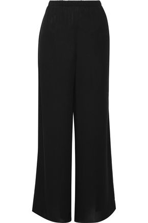 THE ROW Lene crepe wide-leg pants