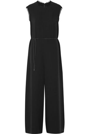 THE ROW Shubin silk-crepe wide-leg jumpsuit
