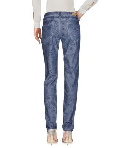Фото 2 - Повседневные брюки грифельно-синего цвета