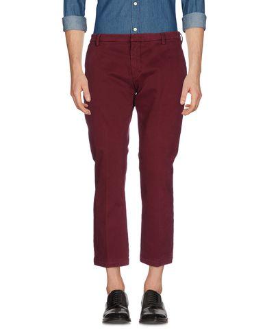 Фото - Повседневные брюки от MICHAEL COAL красно-коричневого цвета