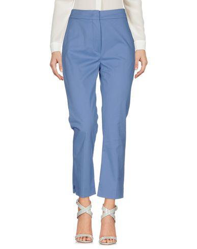 Фото - Повседневные брюки от SPORTMAX пастельно-синего цвета