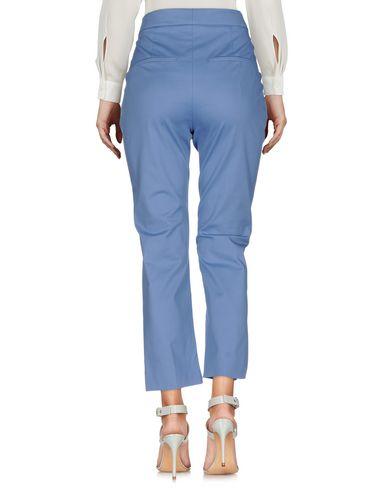 Фото 2 - Повседневные брюки от SPORTMAX пастельно-синего цвета