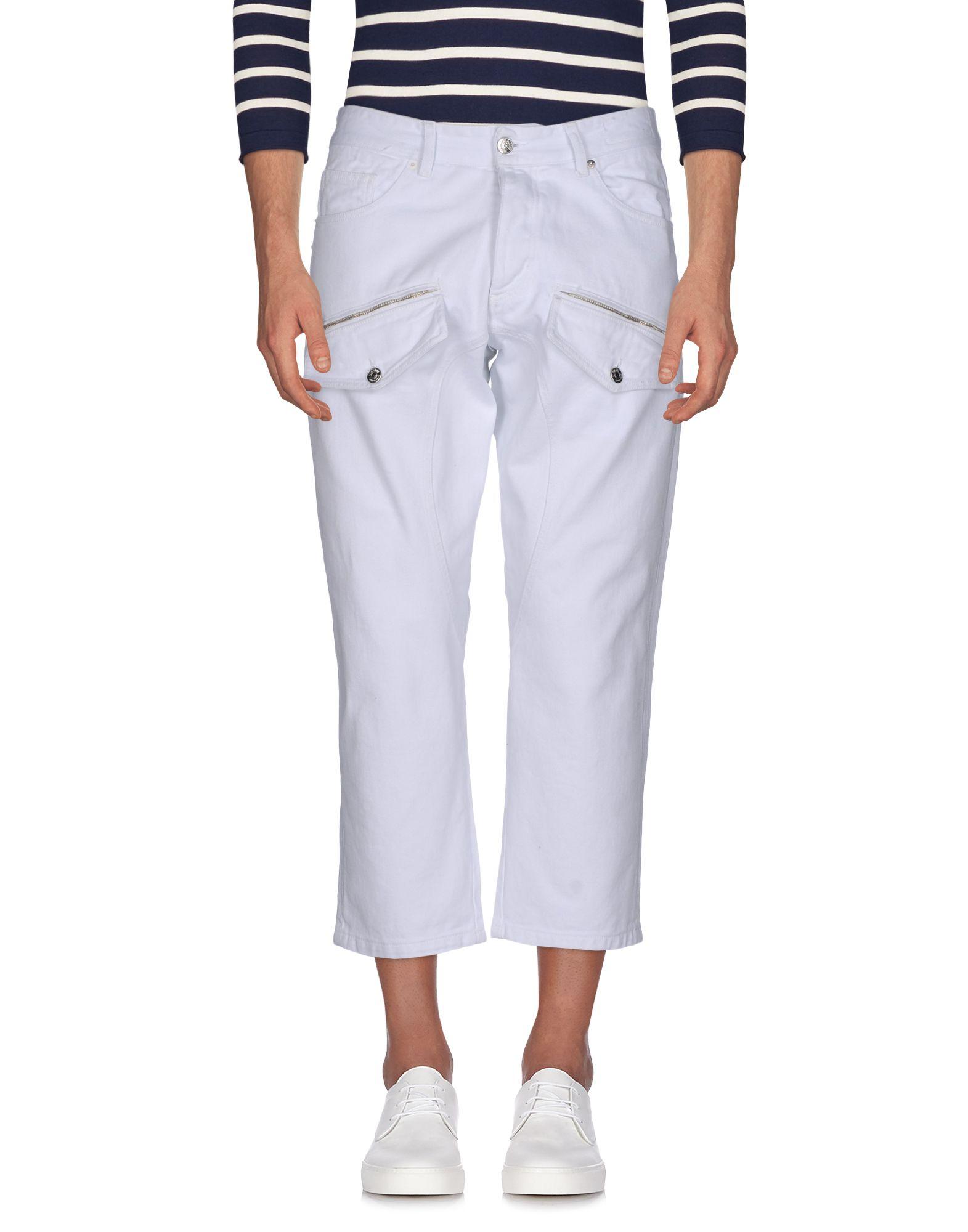 10 MILANO Джинсовые брюки-капри start up джинсовые брюки капри