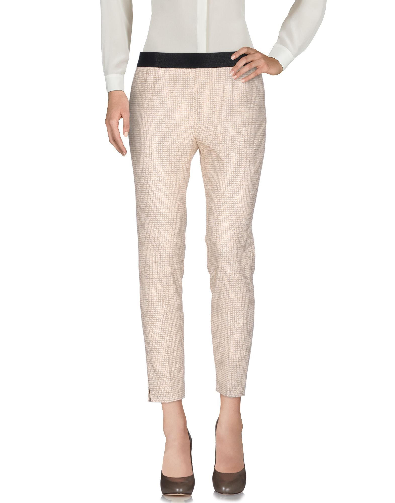 INCOTEX Damen Hose Farbe Beige Größe 4 - broschei