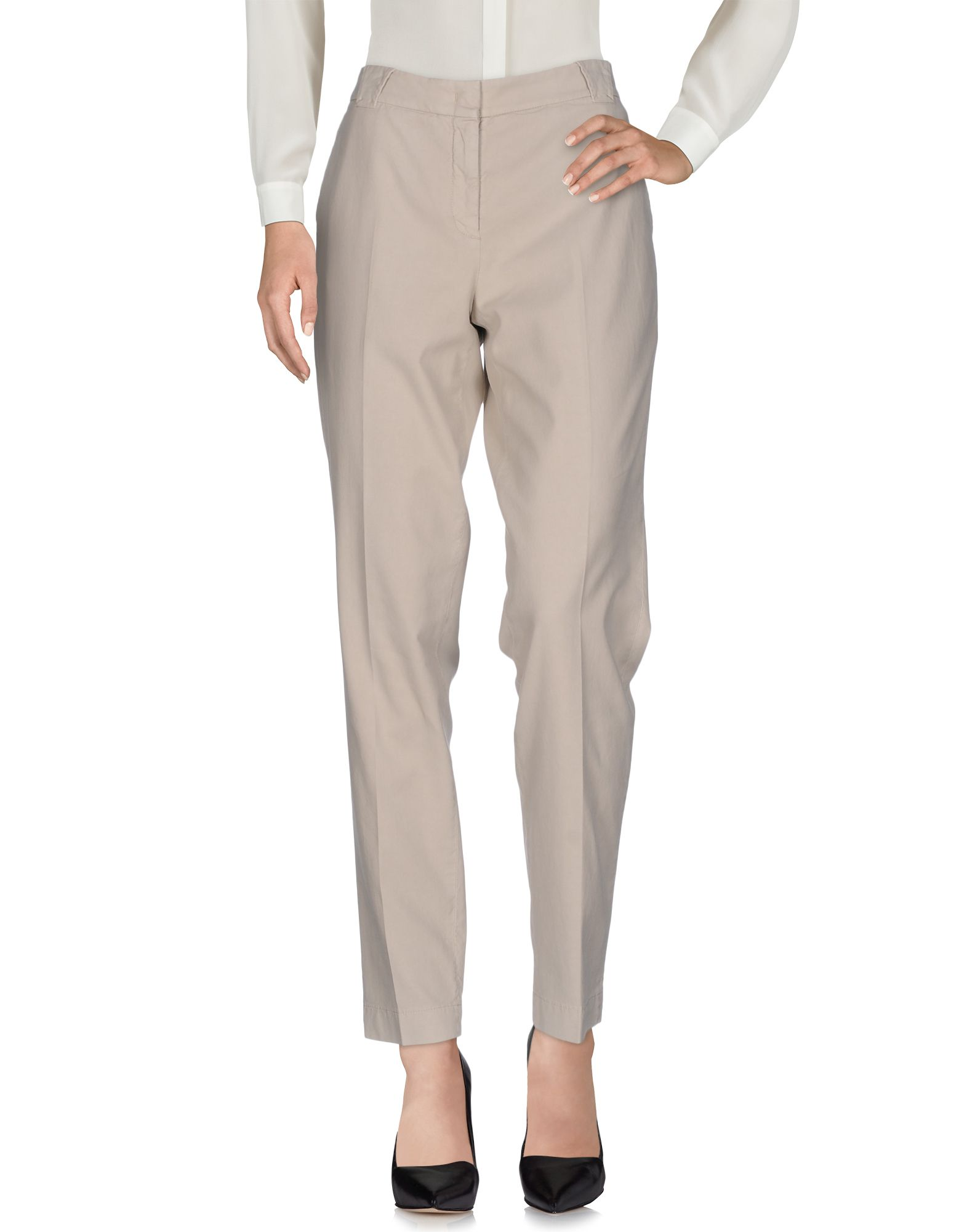 INCOTEX Damen Hose Farbe Hellgrau Größe 7 - broschei