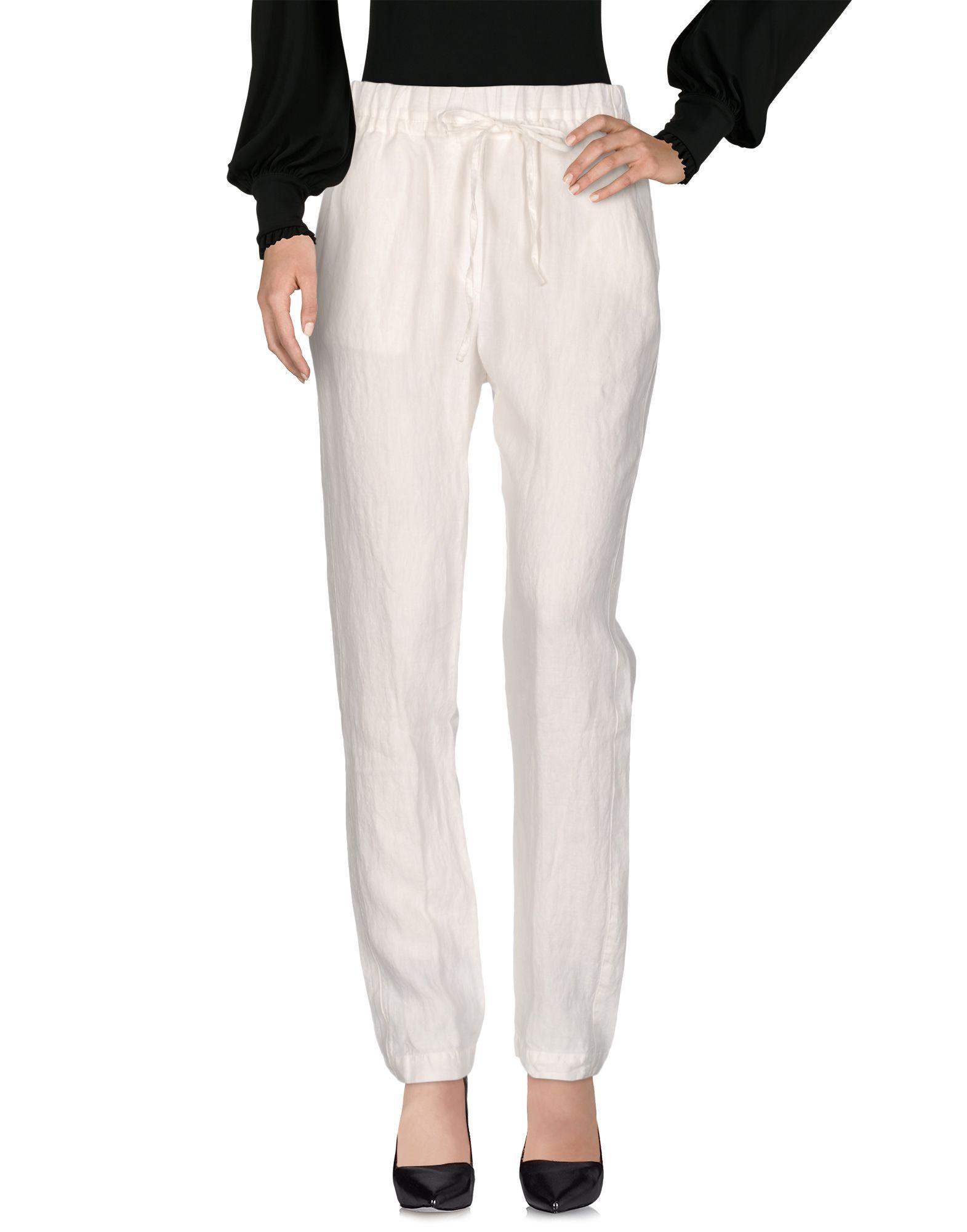 INCOTEX Damen Hose Farbe Weiß Größe 4 - broschei