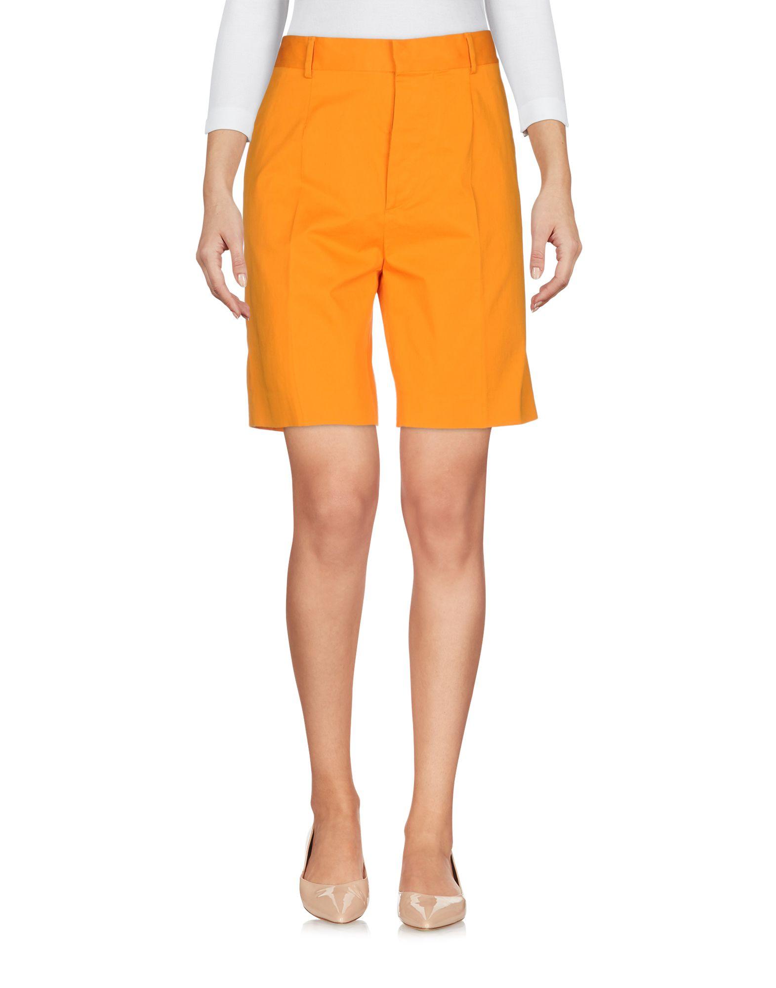 DSQUARED2 Damen Bermudashorts Farbe Orange Größe 4 - broschei