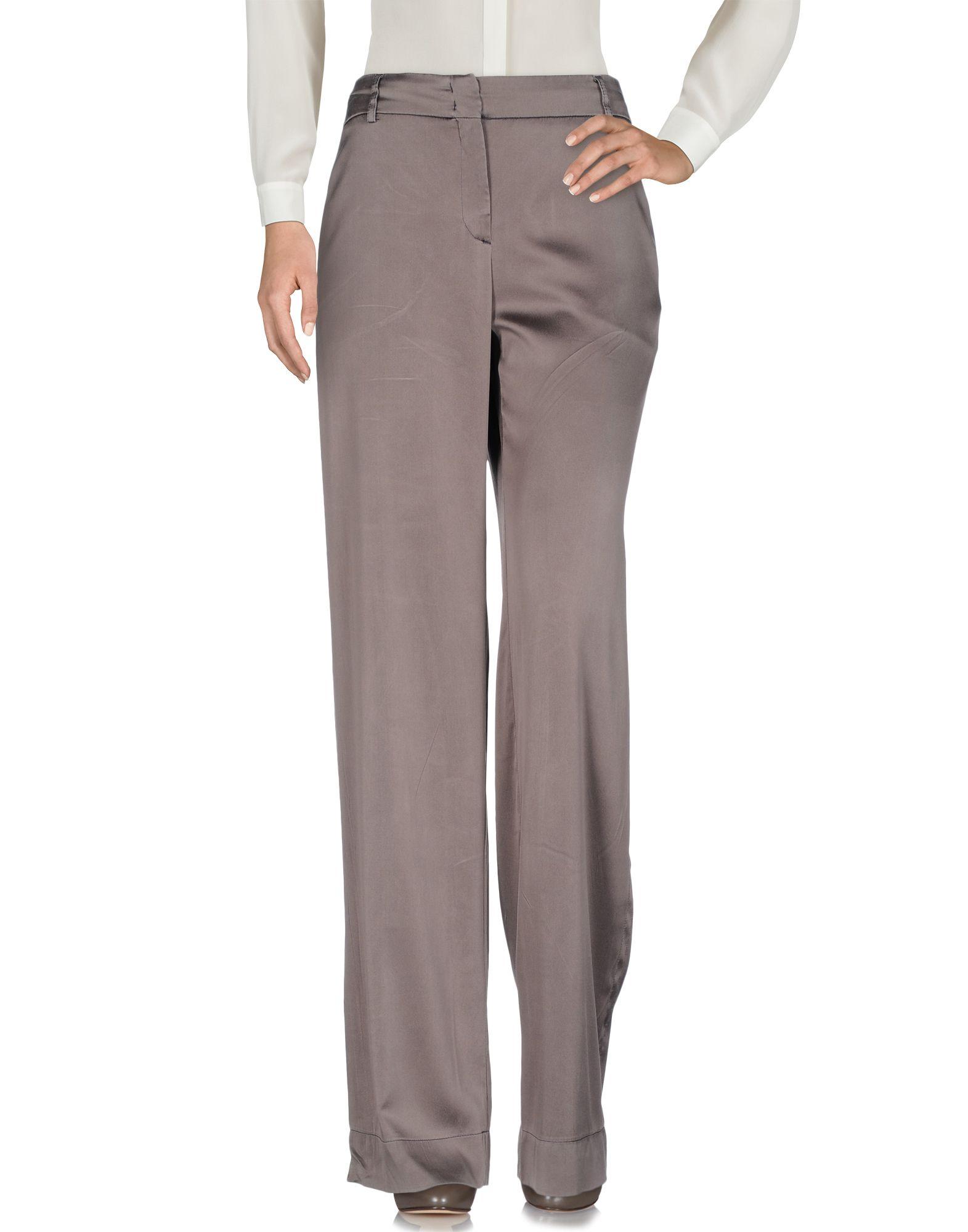 INCOTEX Damen Hose Farbe Dunkelbraun Größe 7 - broschei
