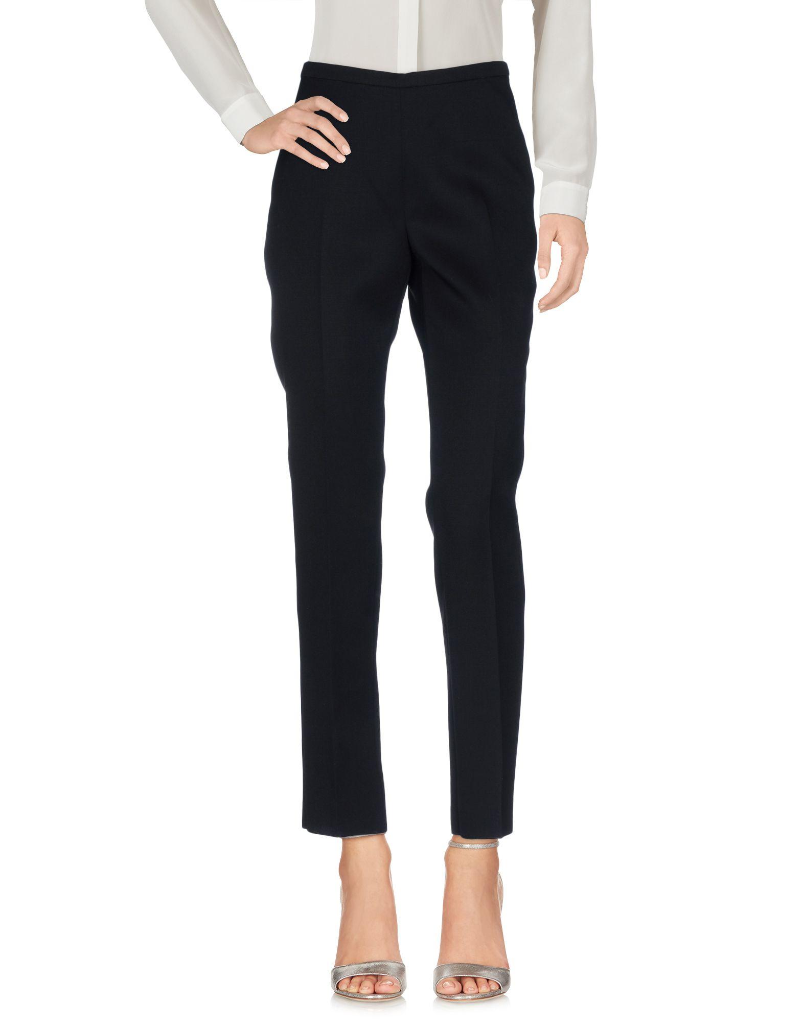 ROCHAS Damen Hose Farbe Schwarz Größe 2 - broschei