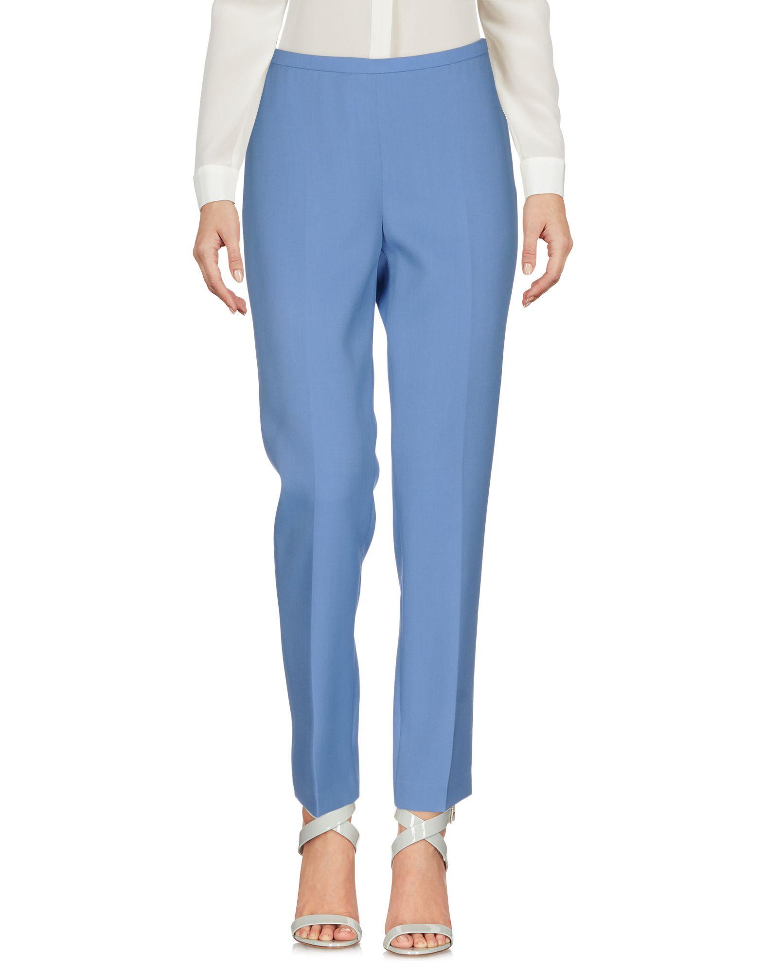 ROCHAS Damen Hose Farbe Himmelblau Größe 4 - broschei