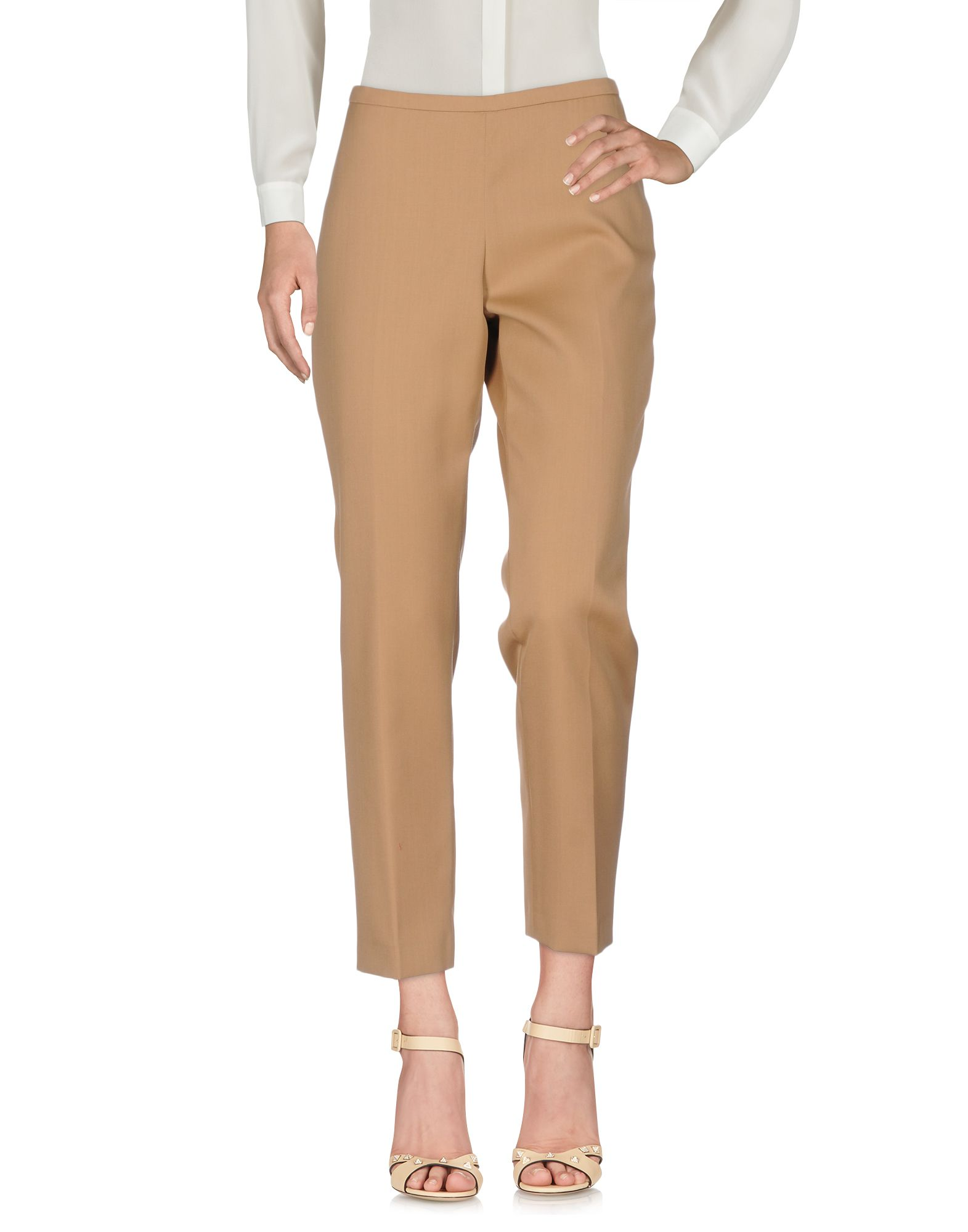 ROCHAS Damen Hose Farbe Khaki Größe 5 - broschei