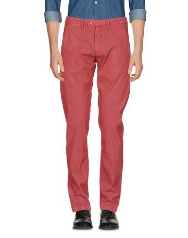Фото - Повседневные брюки от BARONIO кирпично-красного цвета