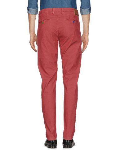 Фото 2 - Повседневные брюки от BARONIO кирпично-красного цвета