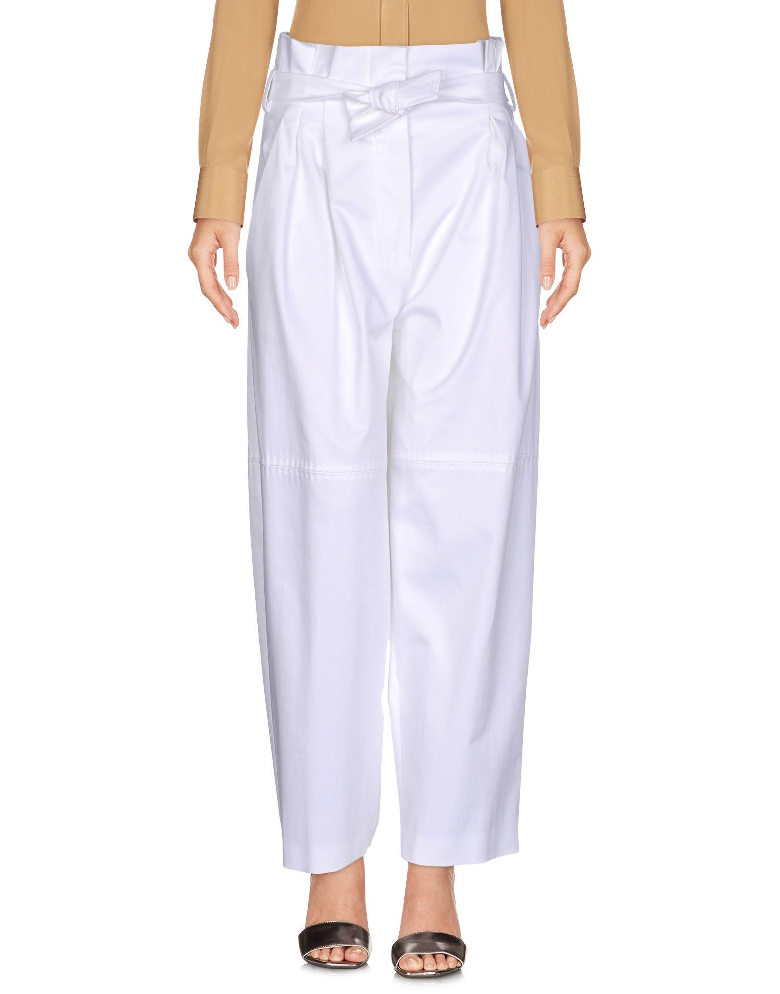 ALBERTA FERRETTI Damen Hose Farbe Weiß Größe 6 - broschei