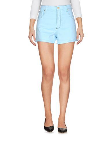Фото - Повседневные шорты от RE-HASH небесно-голубого цвета