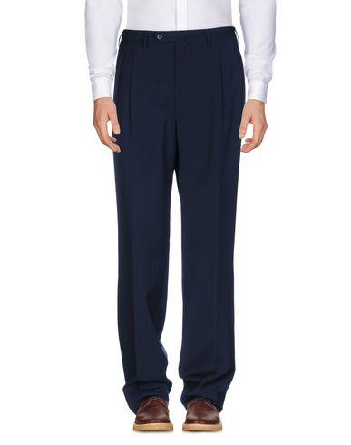Фото - Повседневные брюки от ERALDO темно-синего цвета