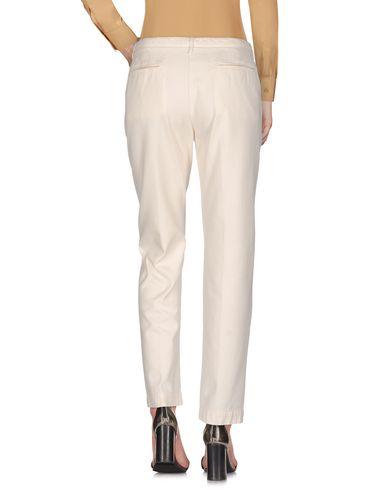 Фото 2 - Повседневные брюки от MASSIMO ALBA цвет слоновая кость