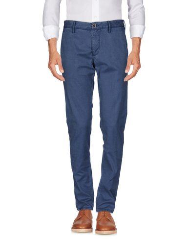 Купить Повседневные брюки от INCOTEX темно-синего цвета
