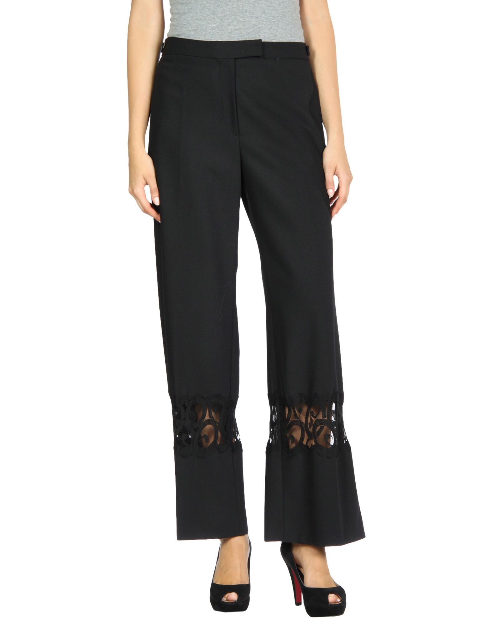 SHARON WAUCHOB Casual Pants in Black