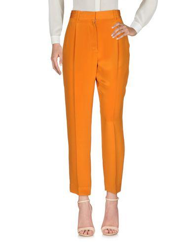 Купить Повседневные брюки оранжевого цвета