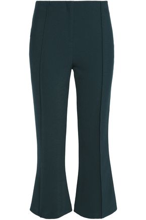 BY MALENE BIRGER Cropped crepe flared pants