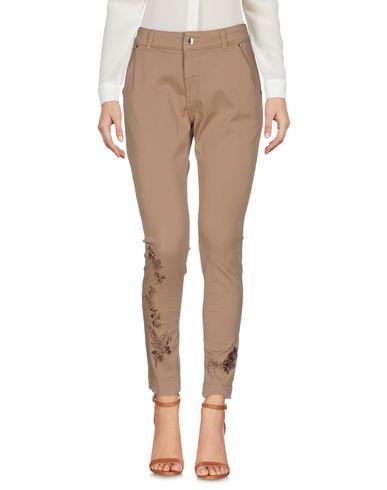 Фото - Повседневные брюки от TWINSET цвет верблюжий