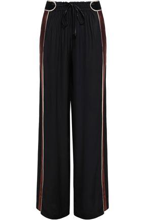 PETER PILOTTO Color-block cady wide-leg pants