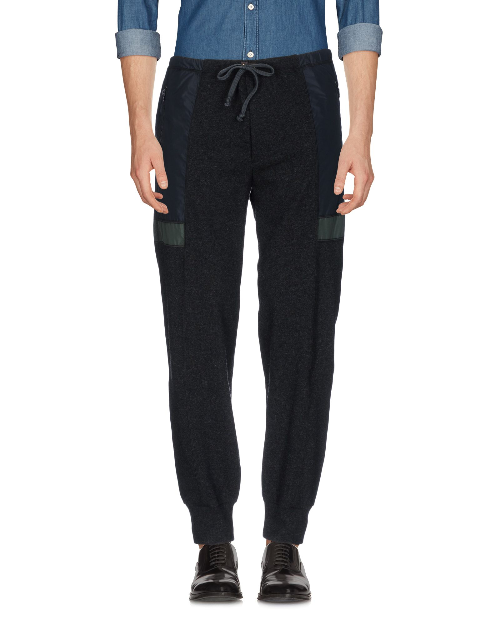 《セール開催中》KOLOR/BEACON メンズ パンツ ブラック 3 ウール 85% / カシミヤ 15% / ポリエステル