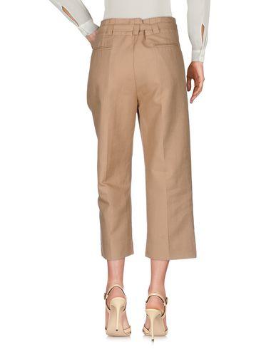 Фото 2 - Повседневные брюки от JUCCA бежевого цвета