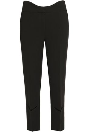 AGNONA Stretch-wool straight-leg pants