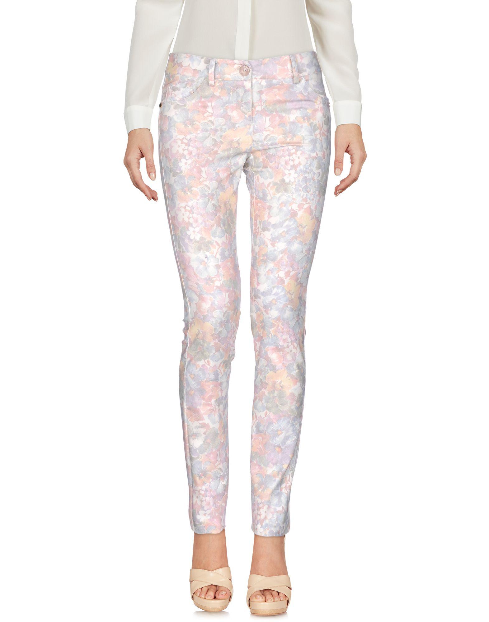 PATRIZIA PEPE Повседневные брюки patrizia pepe джинсы 5 карманов облегающие из мягкого комфортного денима