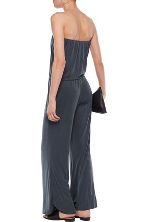 TART Strapless stretch-jersey jumpsuit