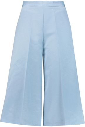 MSGM Cotton-blend faille culottes