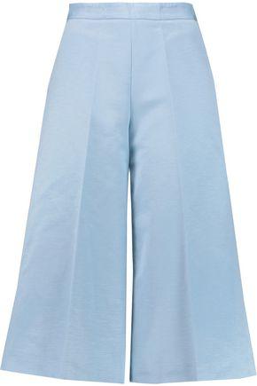 MSGM Cotton-blend faille culottes