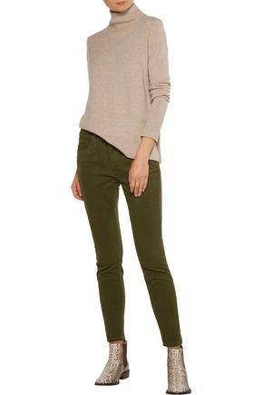 CURRENT/ELLIOTT The Stiletto cotton-blend corduroy skinny pants