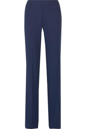 ANTONIO BERARDI Crepe straight-leg pants
