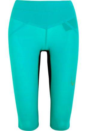 LUCAS HUGH Core Performance cropped stretch-jersey leggings