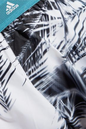 ADIDAS by STELLA McCARTNEY Printed shell shorts