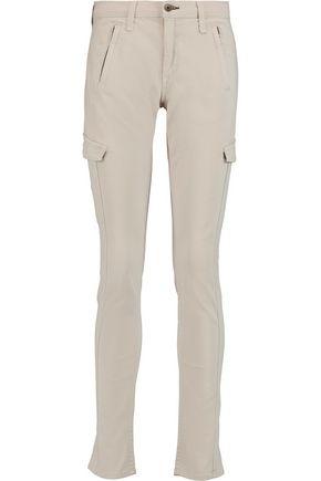 RAG & BONE Cotton-blend slim-leg pants