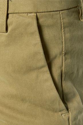 CURRENT/ELLIOTT Cotton-blend culottes