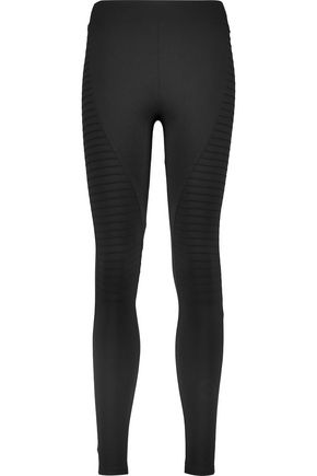 KAIN Cole paneled stretch-Supplex® leggings