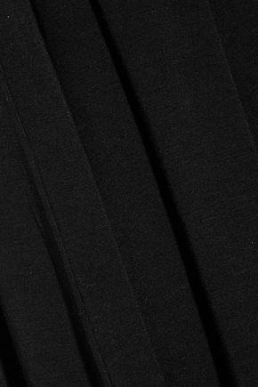 SPLENDID Cropped stretch-jersey jumpsuit