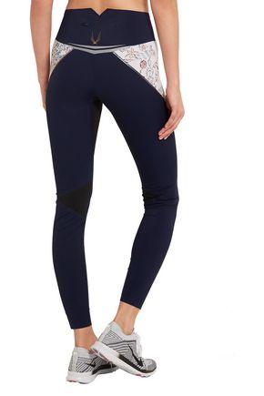 LUCAS HUGH Lago printed stretch leggings