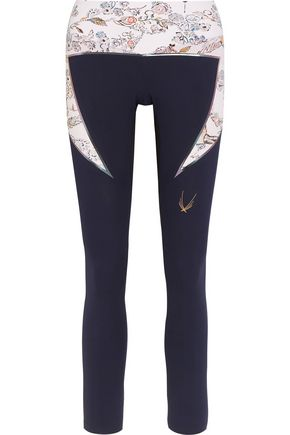 LUCAS HUGH Lago printed stretch leggings