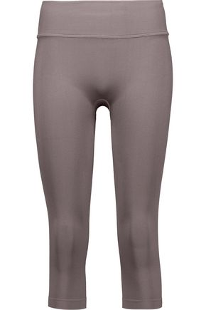 YUMMIE by HEATHER THOMSON® Gabby cropped stretch-knit leggings